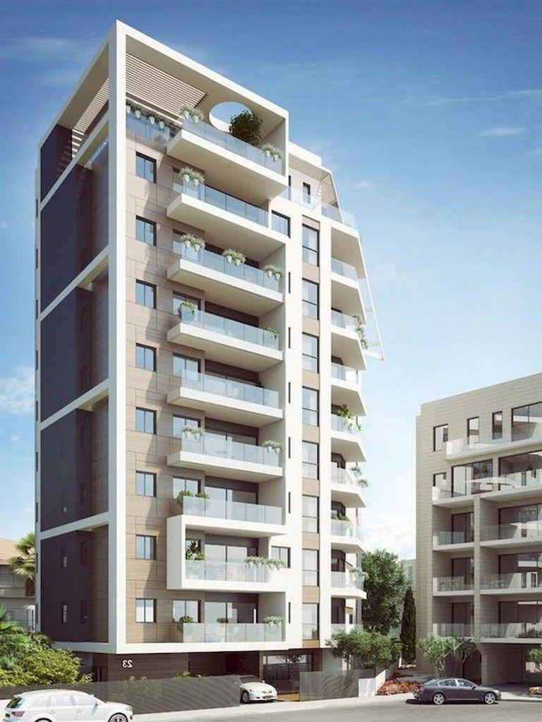 51 Awesome Modern Facade Apartment Decor Ideas Modern Residential Architecture Facade Architecture Residential Architecture Facades
