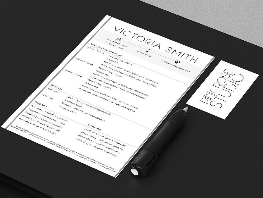 Darmowy szablon CV do pobrania i edycji w Wordzie (.docx