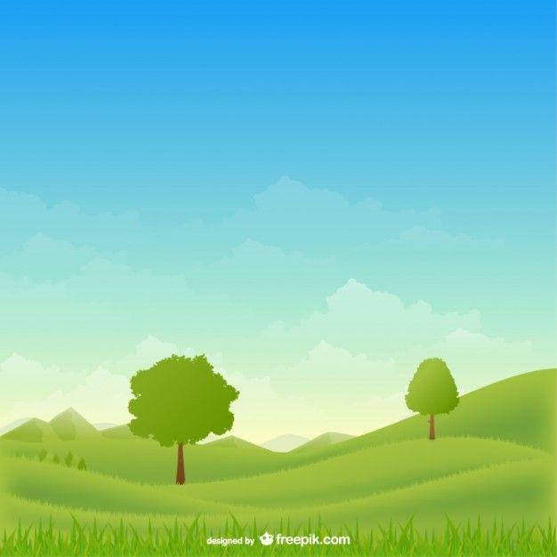 Download Rural Landscape Vector For Free Criancas