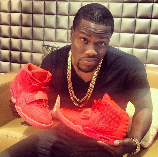 Kevin Hart Shows Off 'Red October' #Nike Air #Yeezy 2 | Sole