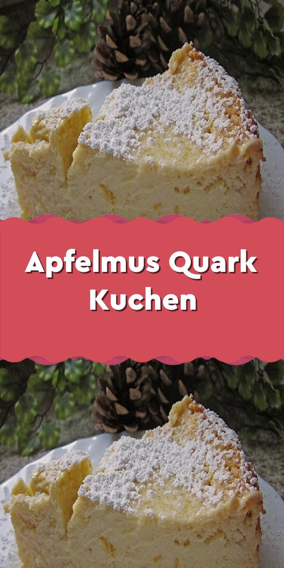 Photo of Apfelmus-Quark-Kuchen – Apfelmus-Quark-Kuchen – #AppleCake #Apple Butter #cake …