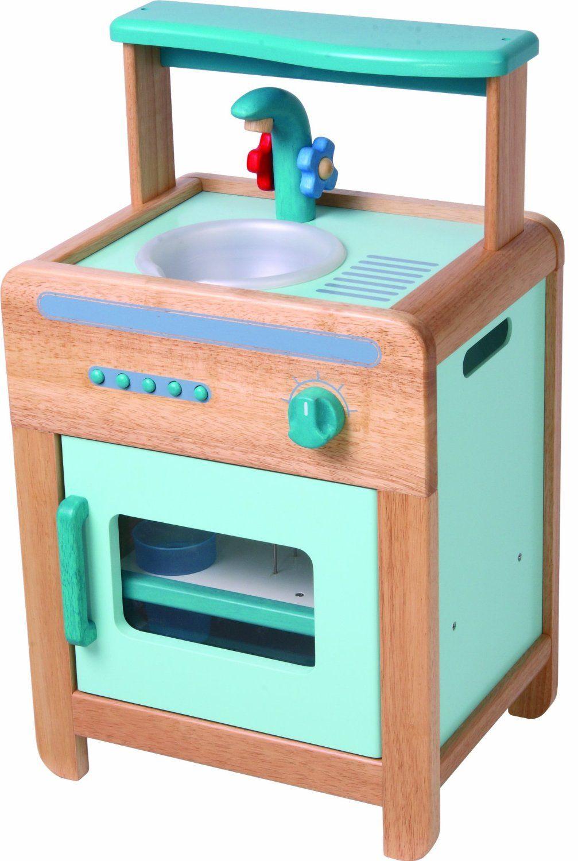 Voila Wooden Toy Kid's Room Little Sink / Dishwasher