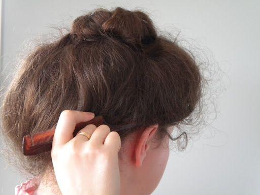 gibson+girl+hairstyle | Gibson Girl Style Updo | Vintage Updo ...