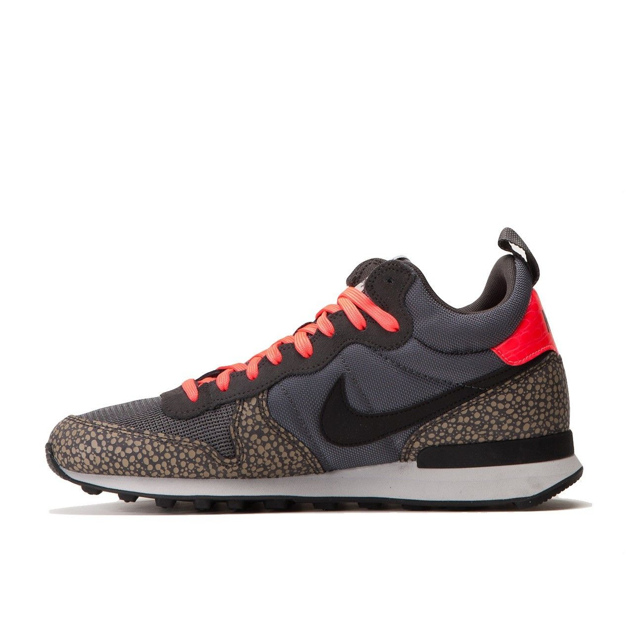 nike internationalist dames zwart print
