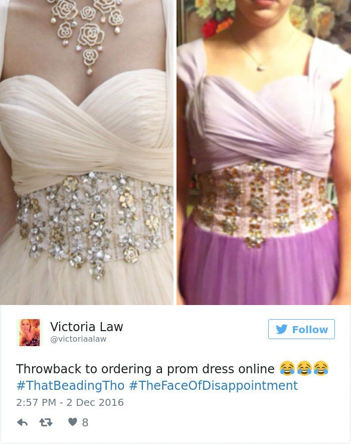 24ba6cf2c183 Teens Are Sharing Prom Dresses They Regret Buying Online And It's ...