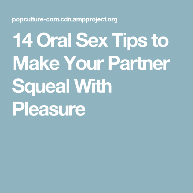 Oral sex tips for married couples