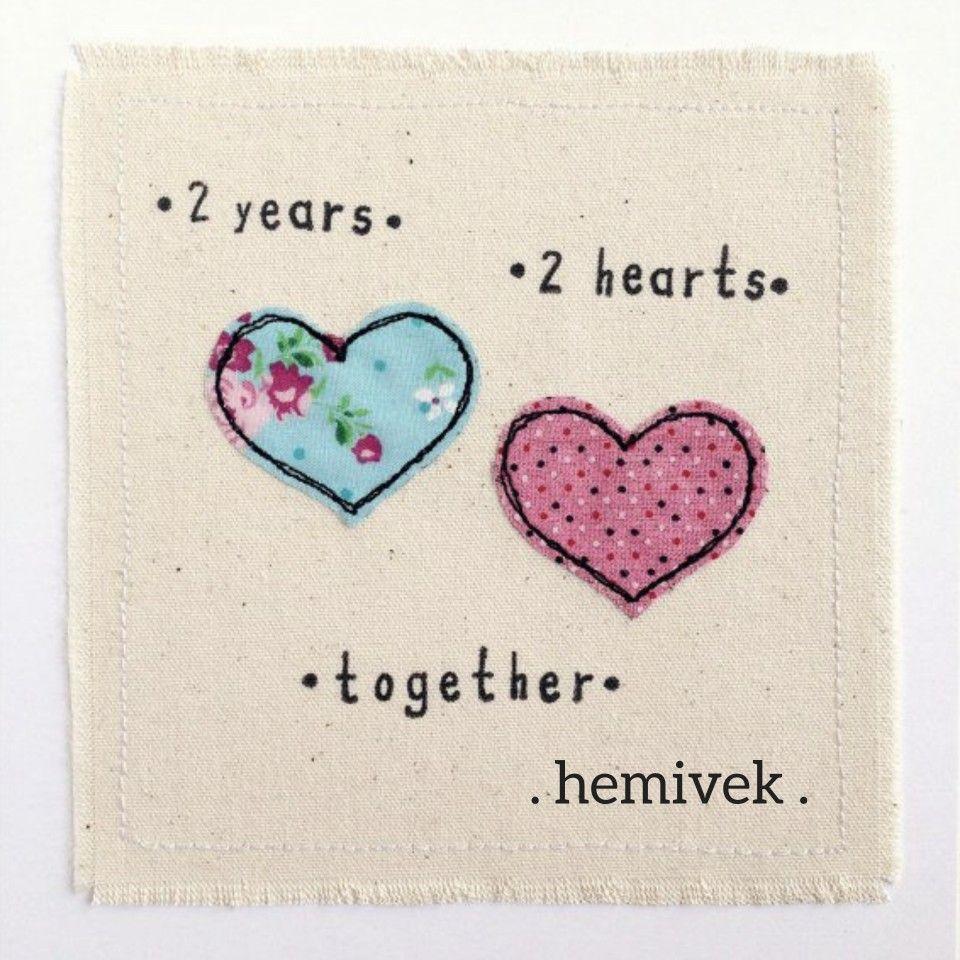 2 Year Anniversary Hemivek Anniversary Greeting Cards Anniversary Greetings Anniversary Cards For Him