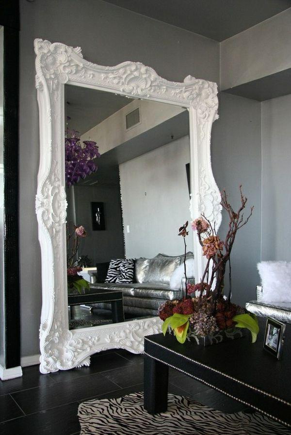 designer spiegel ? dekoideen mit glänzenden accessoires - jennifer ... - Deko Wandspiegel Wohnzimmer
