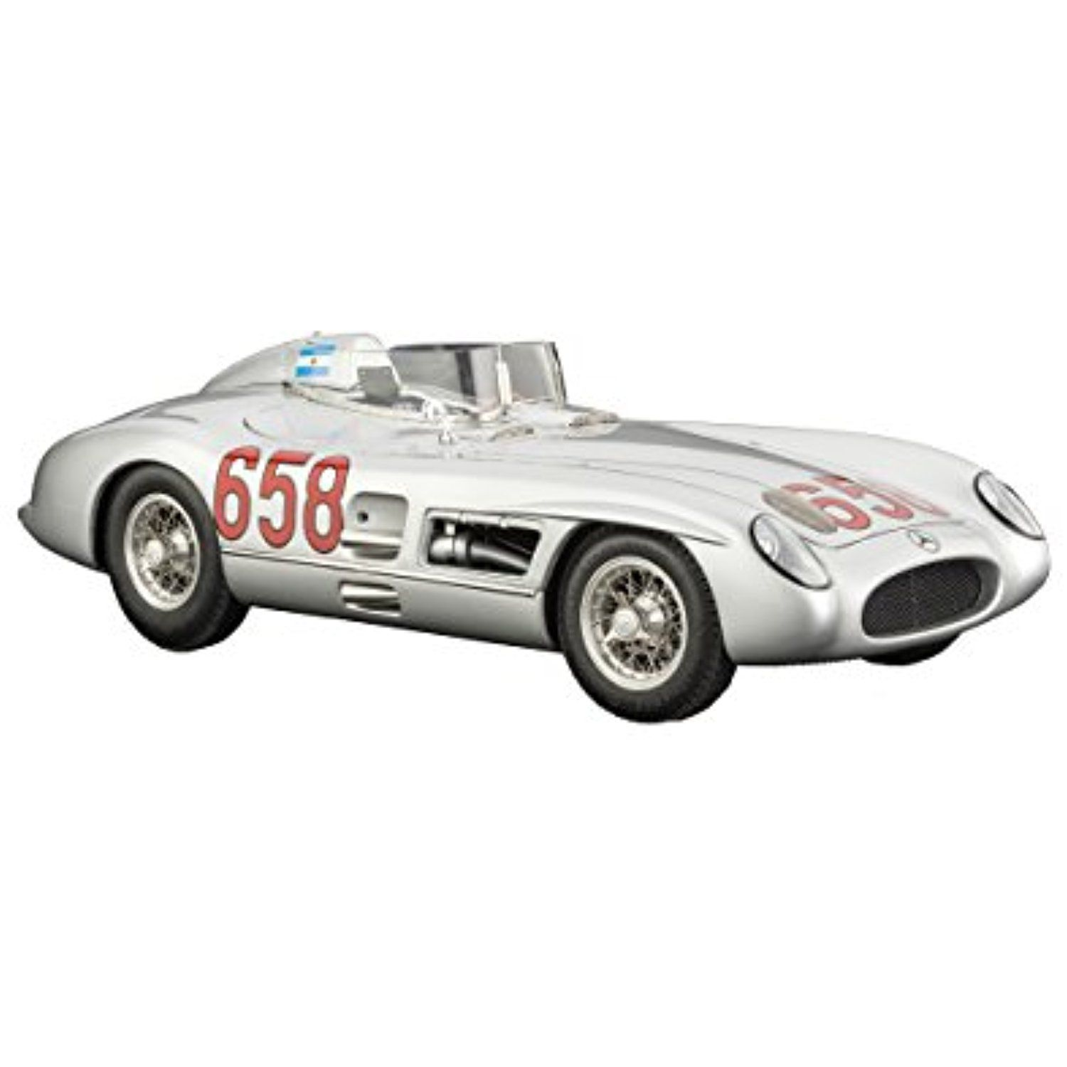 CMC Classic Model Cars USA Mercedes Benz 300 SLR 1955 Mille Miglia