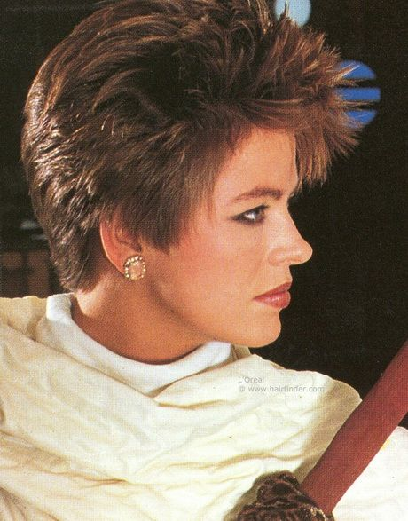 Short Hairstyles From The 80'S | 80s short hairstyles for women