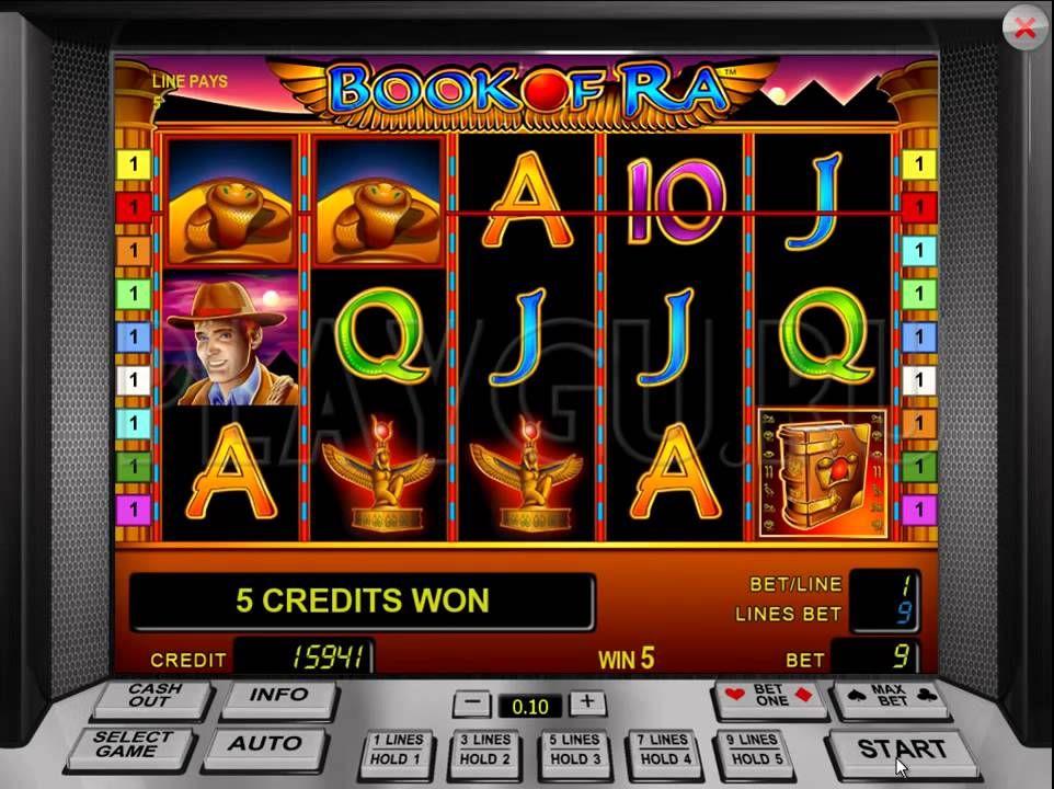Уникальный игровой автомат Книга Ра на просторах онлайн казино Вулкан Старс