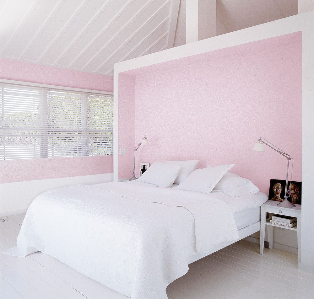 See More Images From Modern Design Ideas With Lots Of Personality On Domino Com Pink Bedroom Decor Woman Bedroom Pink Bedroom For Girls