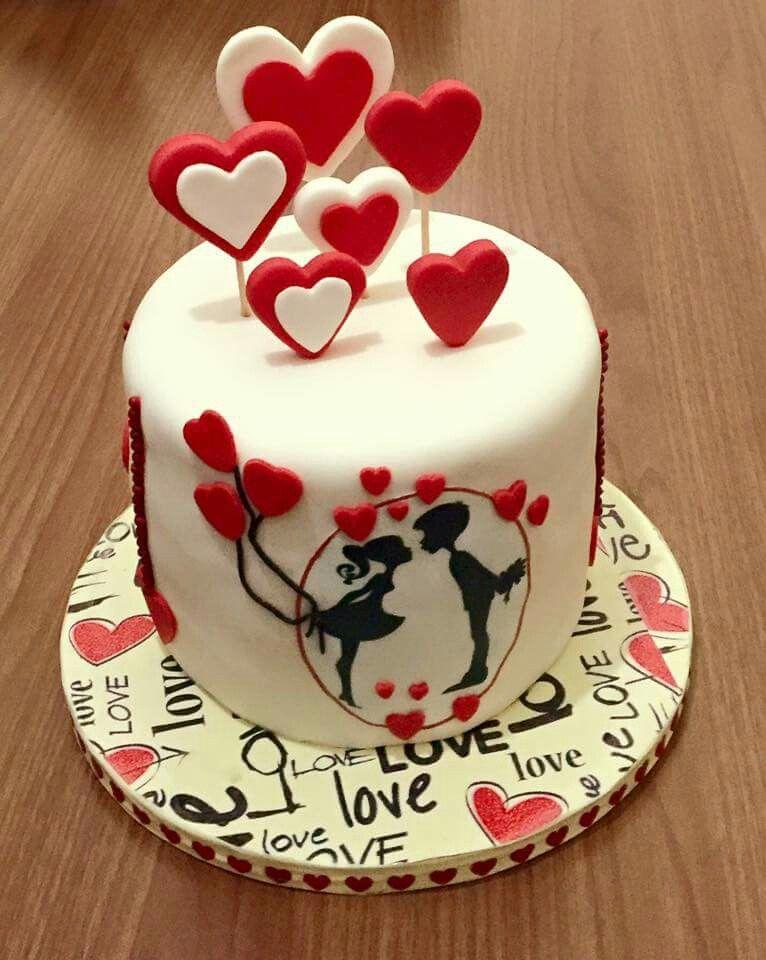 Valentine Cake Valentine Cakes Pinterest Valentine Cake