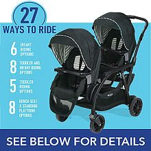 Graco 174 Modes Duo Double Stroller Holt Bayliss Boyzzzz