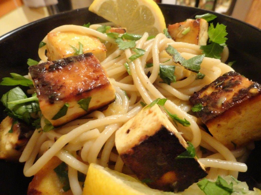 Tofu Shrimp Scampi V Gf Vegan Italian Recipes Vegan Shrimp Whole Food Recipes
