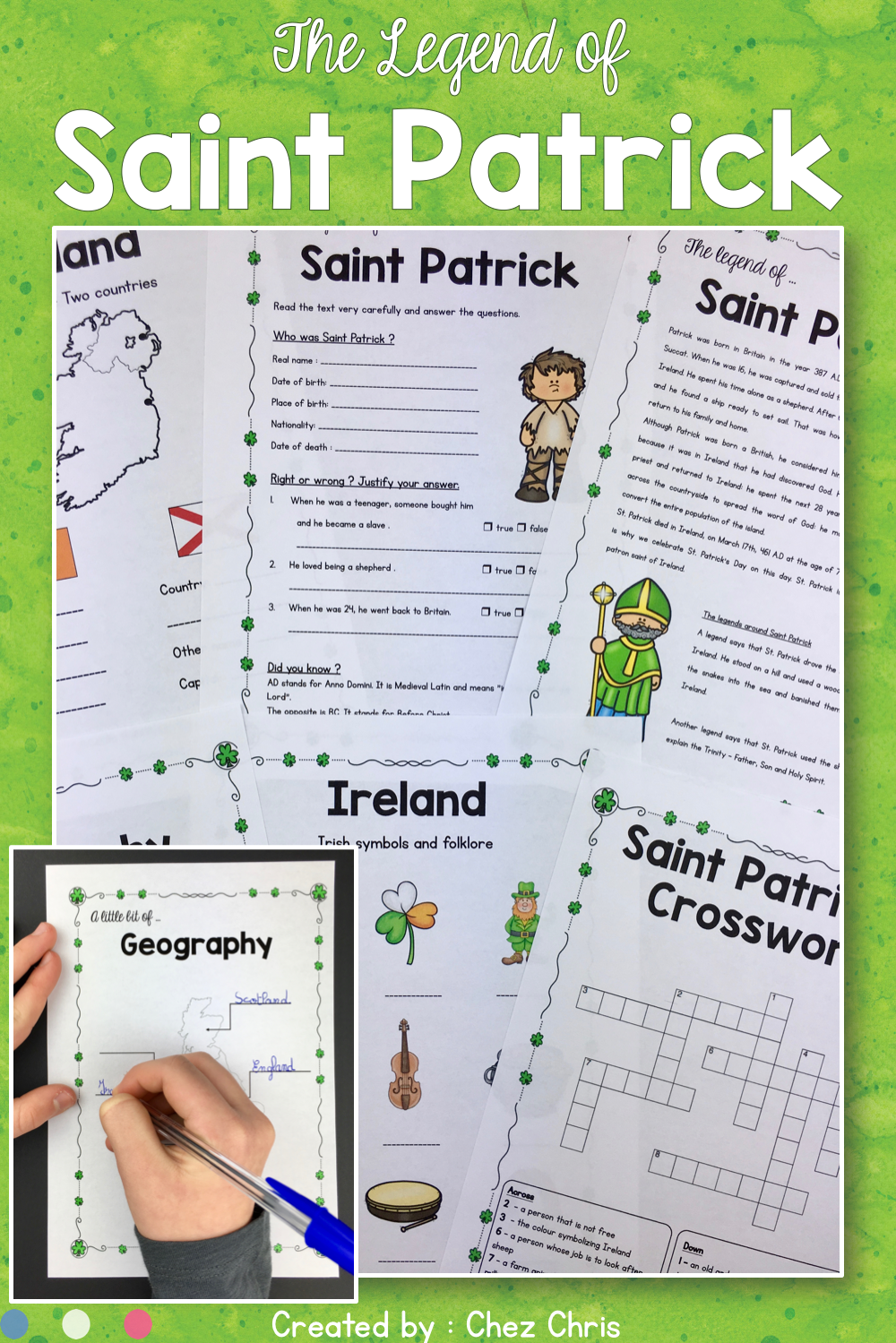 Looking For An Activity For Saint Patrick S Day For Your Esl Students Or Young Learners These Wor Special Needs Students St Patrick Day Activities Activities [ 1499 x 1000 Pixel ]