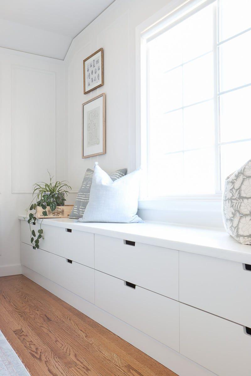 Photo of DIY Ikea Window Seat with Nordli Hack – Hydrangea Treehouse