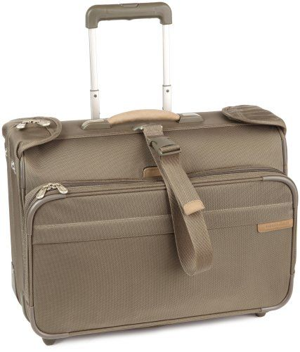 Briggs Riley Luggage Carry On Wheeled Garment Bag S Baseline Is A Easy And Compact Way To Travel With Hanging