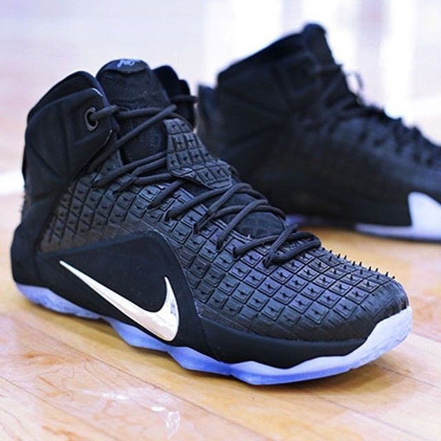 online store 55317 c6b6a ... inexpensive the nike lebron 12 ext rubber city black chrome colorway is  the latest nike lebron