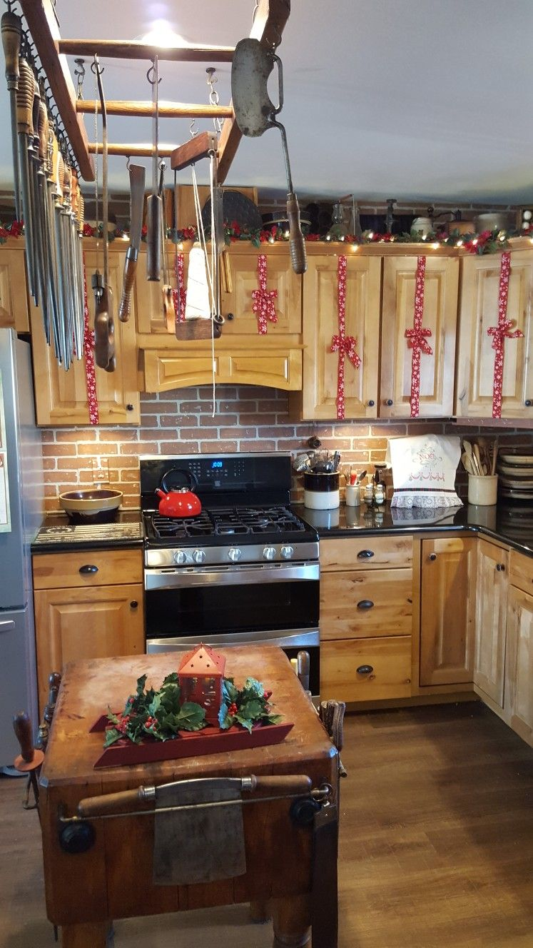 pin by gene johnson on christmas 2017 kitchen cabinets home decor christmas on kitchen cabinets xmas decor id=40603