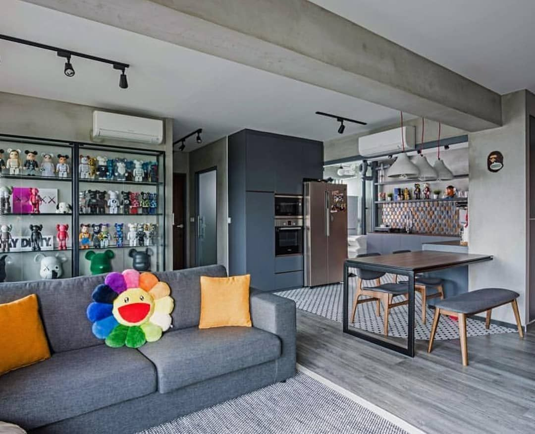 Hypebeast Inspired Rooms Chic Beautiful Home Surrounded By Kaws And Pop Art Pieces Kaws Ronenglish Home Room Design Top Interior Design Firms Room Design