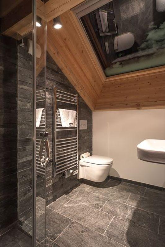 La salle de bain esprit chalet de montagne - masalledebain.com | WC ...