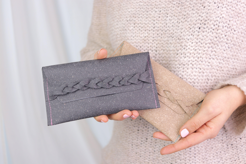 Photo of Kostenloses Schnittmuster: ReLeda-Tasche mit geflochtenem Verschluss nähen