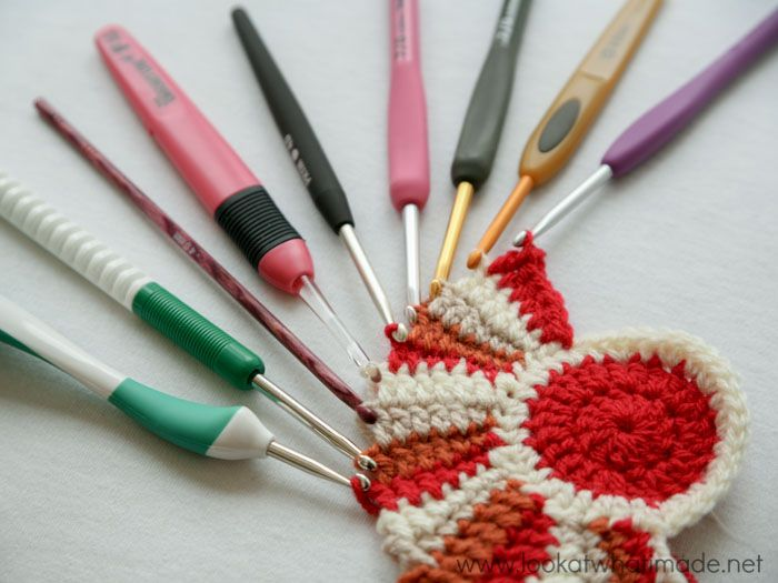 By looking at crochet hook anatomy, types of crochet hooks, and ...
