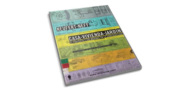 Casa Vivienda Jardín Neufert Neff Book Cover Life Learning