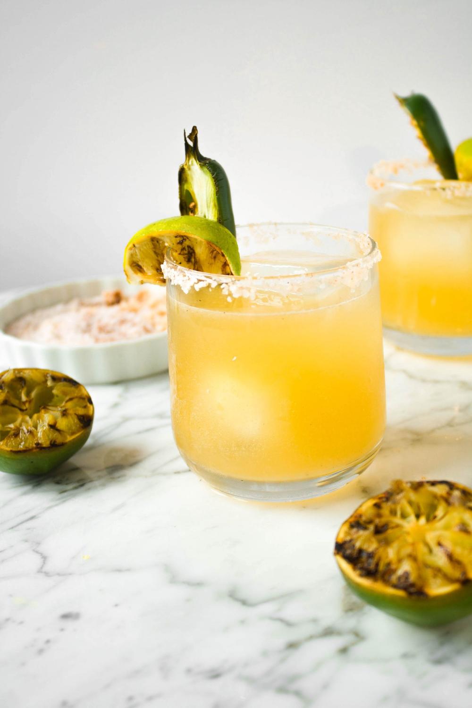 Charred Lime & Jalapeño Margaritas — Zestful Kitchen