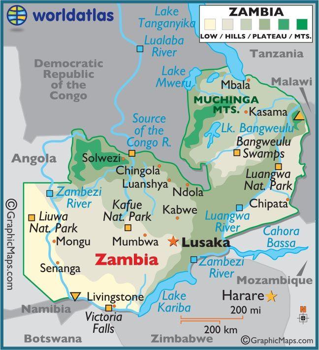 Map Zambia.Zambia Botswana Zimbabwe Namibia Loved Being In 4 At The Same