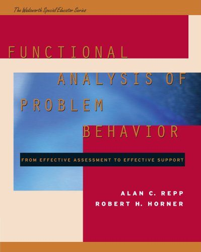Functional Analysis of Problem Behavior From Effective Assessment