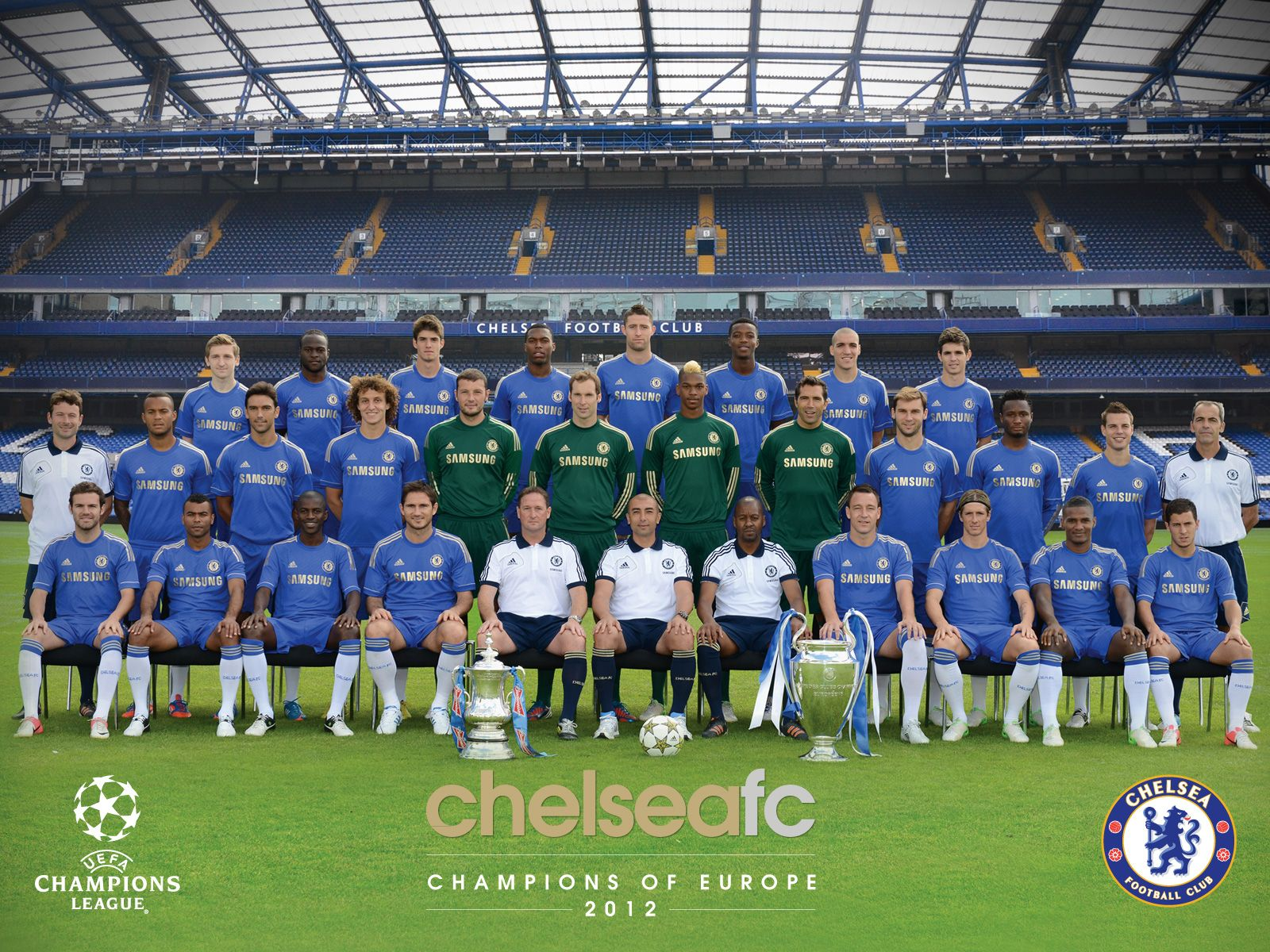 Chelsea Pinterest: Chelsea FC 2012 - Champions Of Europe