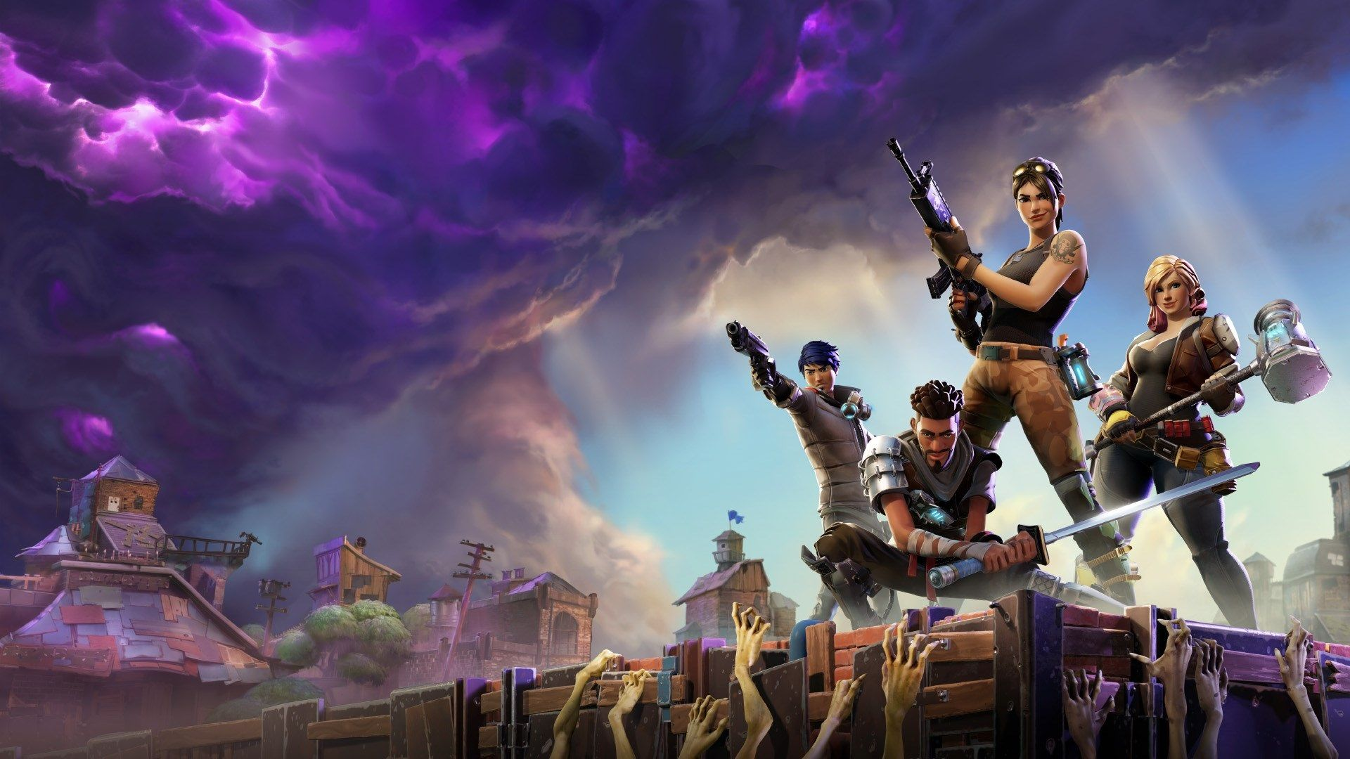 1920x1080 Fortnite Full Hd Background Fortnite Epic Games Gaming Wallpapers