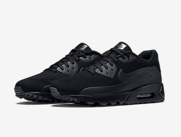 Où acheter la Nike Air Max 90 Ultra Moire Triple Black ?