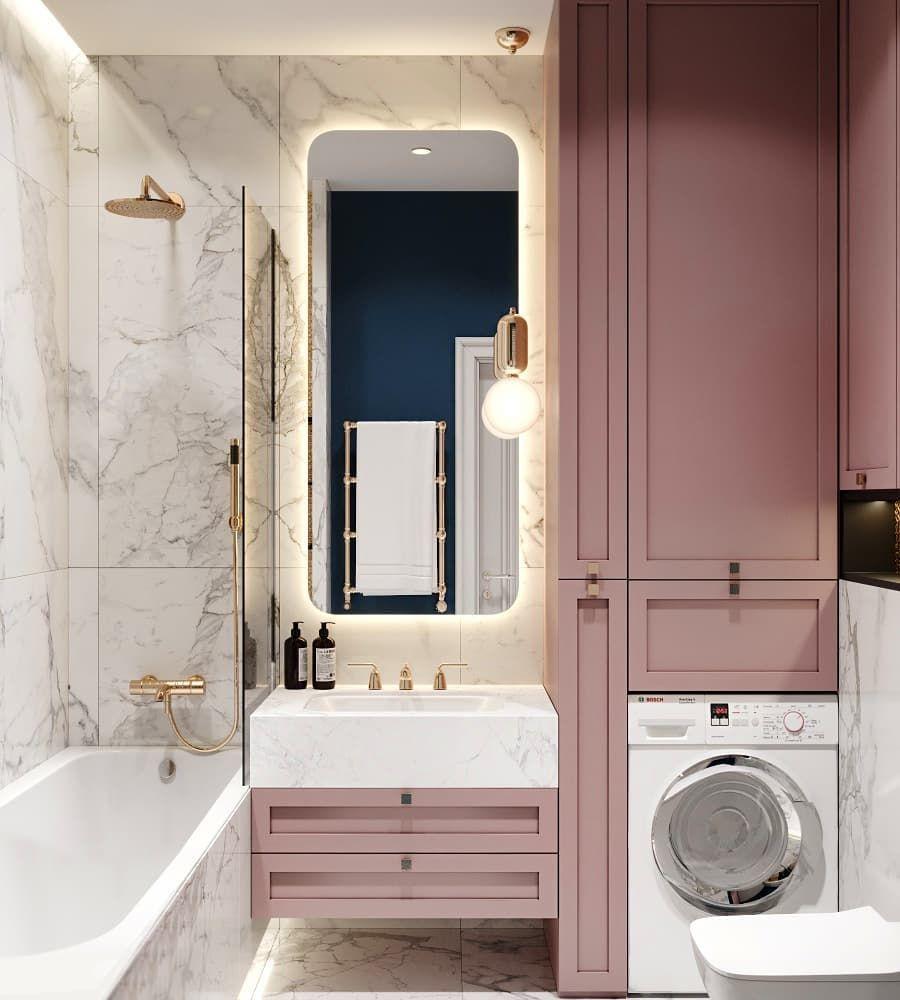"""Photo of СТУДИЯ ДИЗАЙНА """"ДД"""" #designdd on Instagram: """"Проект ванной комнаты для наших подписчиков в ЖК """"Гринада"""", площадь 3.7 кв.м.  _____________________________________________…"""""""