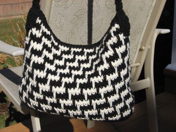 Crochet Bag Pattern Steppin Out Bag Crochet von nutsaboutknitting