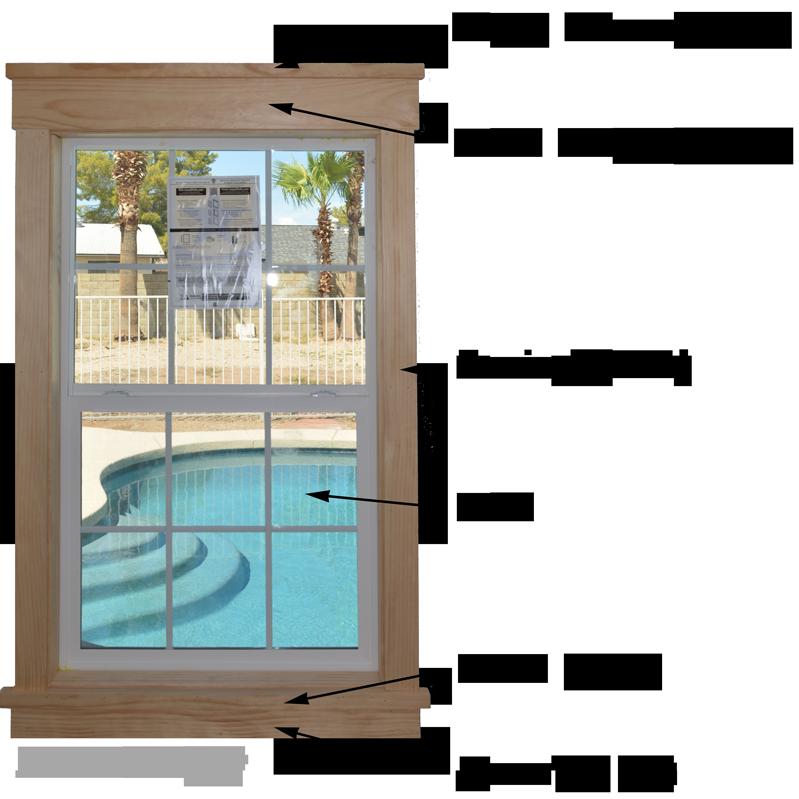 DIY Modern Easy Craftsman Window Trim | Craftsman style ...
