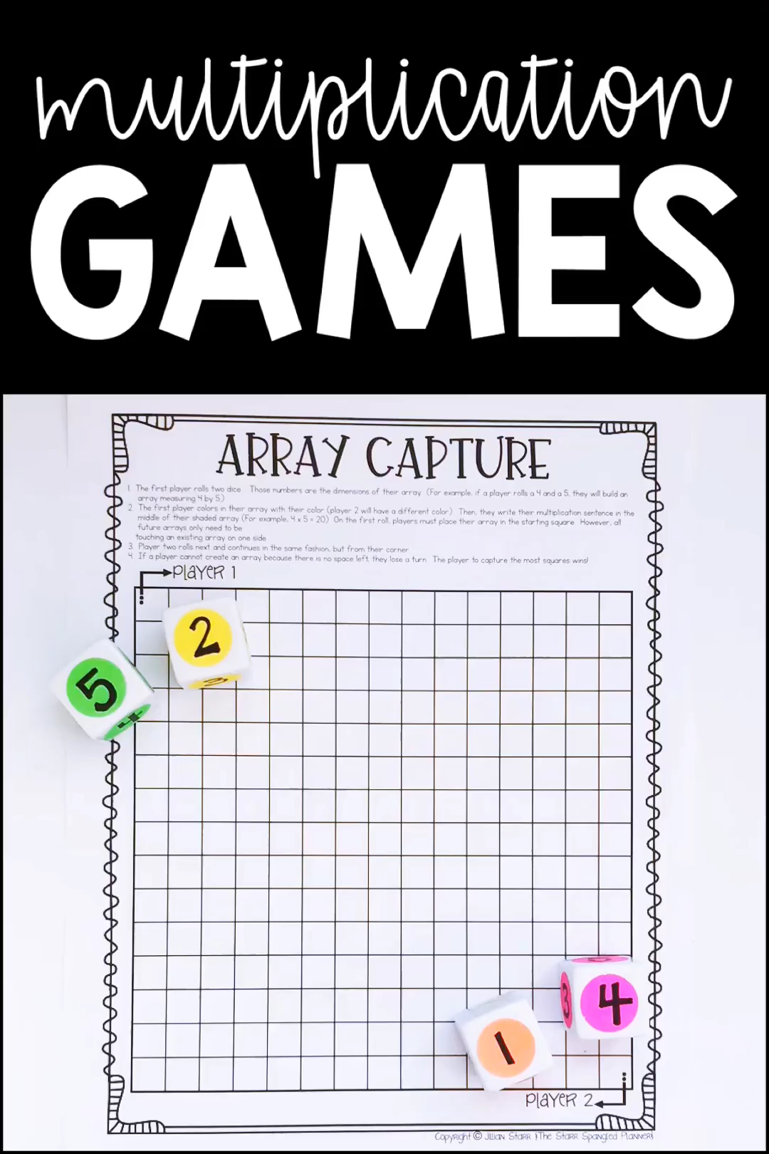 Multiplication Games 20 Favorite Math Centers In