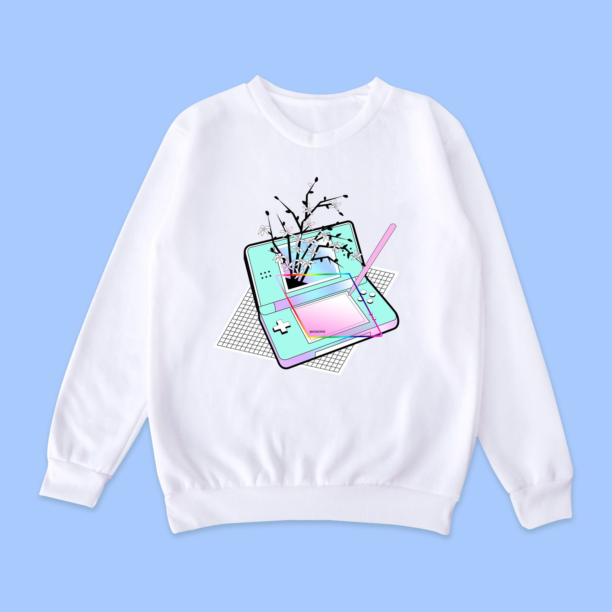 Vaporwave-tumblr-aesthetic NINTENDO jumper | Ropa kawaii ...