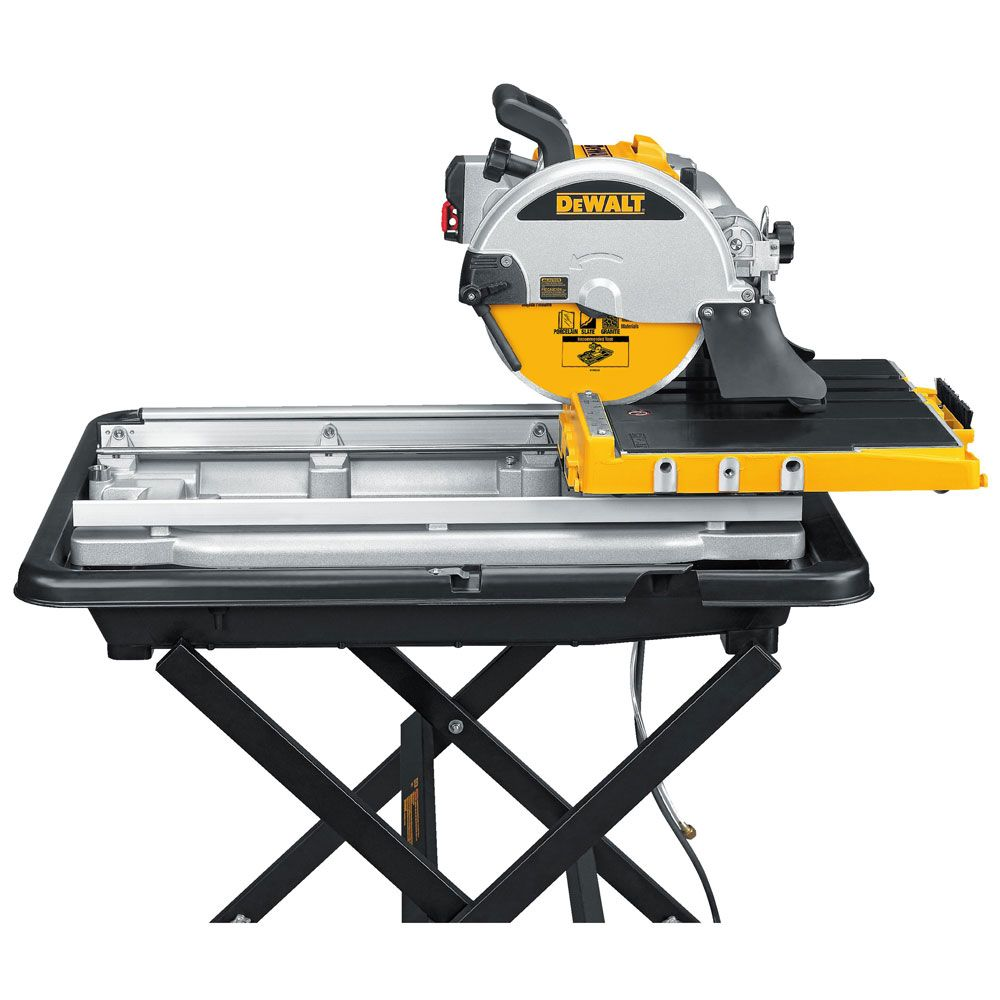 10 Wet Tile Saw With Stand Construction Fasteners And Tools Tile Saw Dewalt Wood Ceramic Tiles