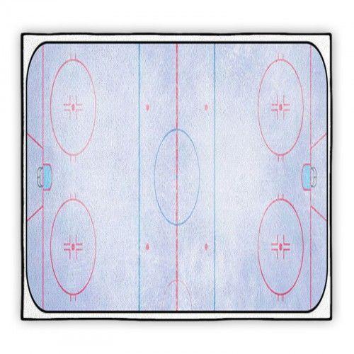 Ice Hockey Rink Custom Size Rug 60276541 | VisionBedding