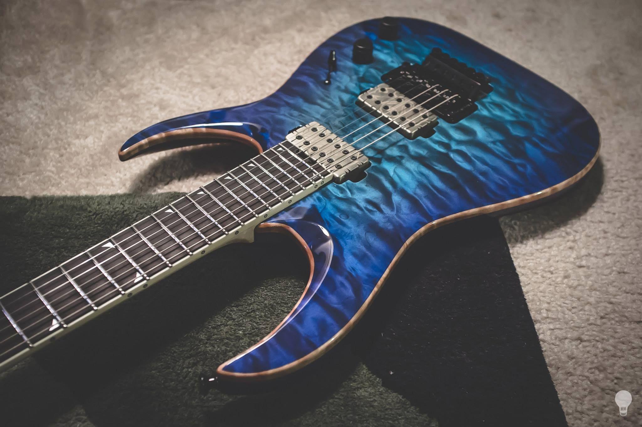 jackson custom shop for misha mansoor riffage jackson guitars beautiful guitars guitar. Black Bedroom Furniture Sets. Home Design Ideas