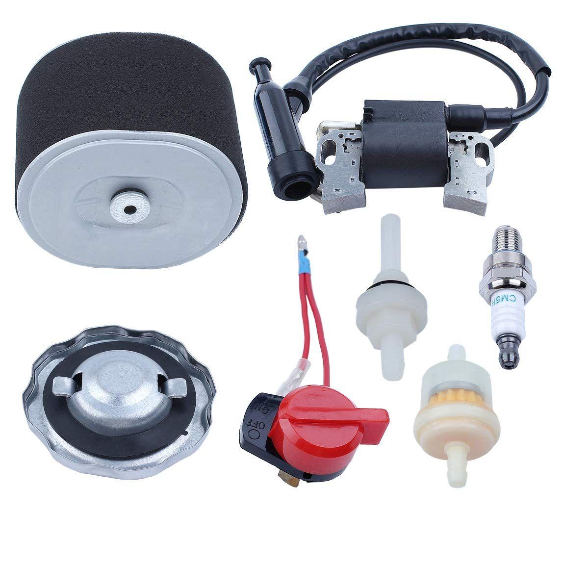 Haishine Air Filter Ignition Coil Gas Fuel Cap