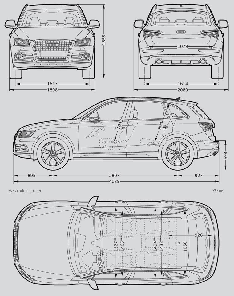 audi q5 dimensions wallpaper