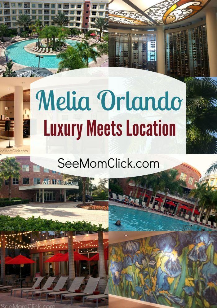 Melia Orlando Luxury Meets Location See Mom Click Orlando