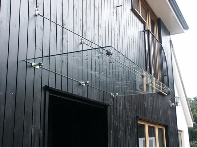 Modern Rod Glass Door Canopy 1440 X 800 Door Canopy Glass Doors