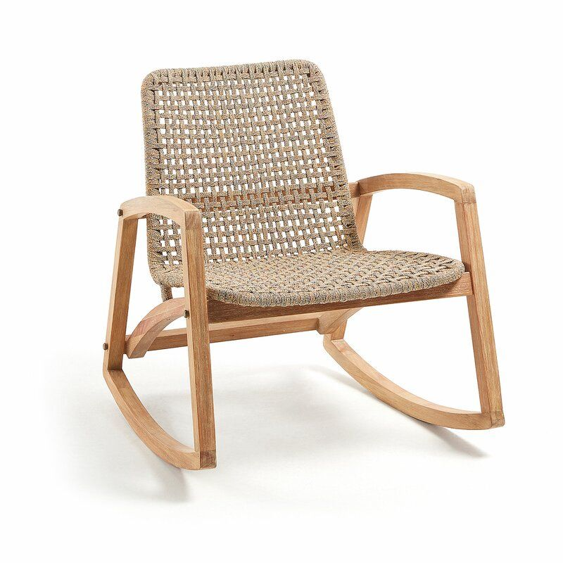 Bay isle home tybrook rocking chair wayfaircouk