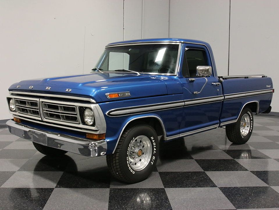 1972 Ford F100 For Sale 100760446 Trucks Classic Ford Trucks