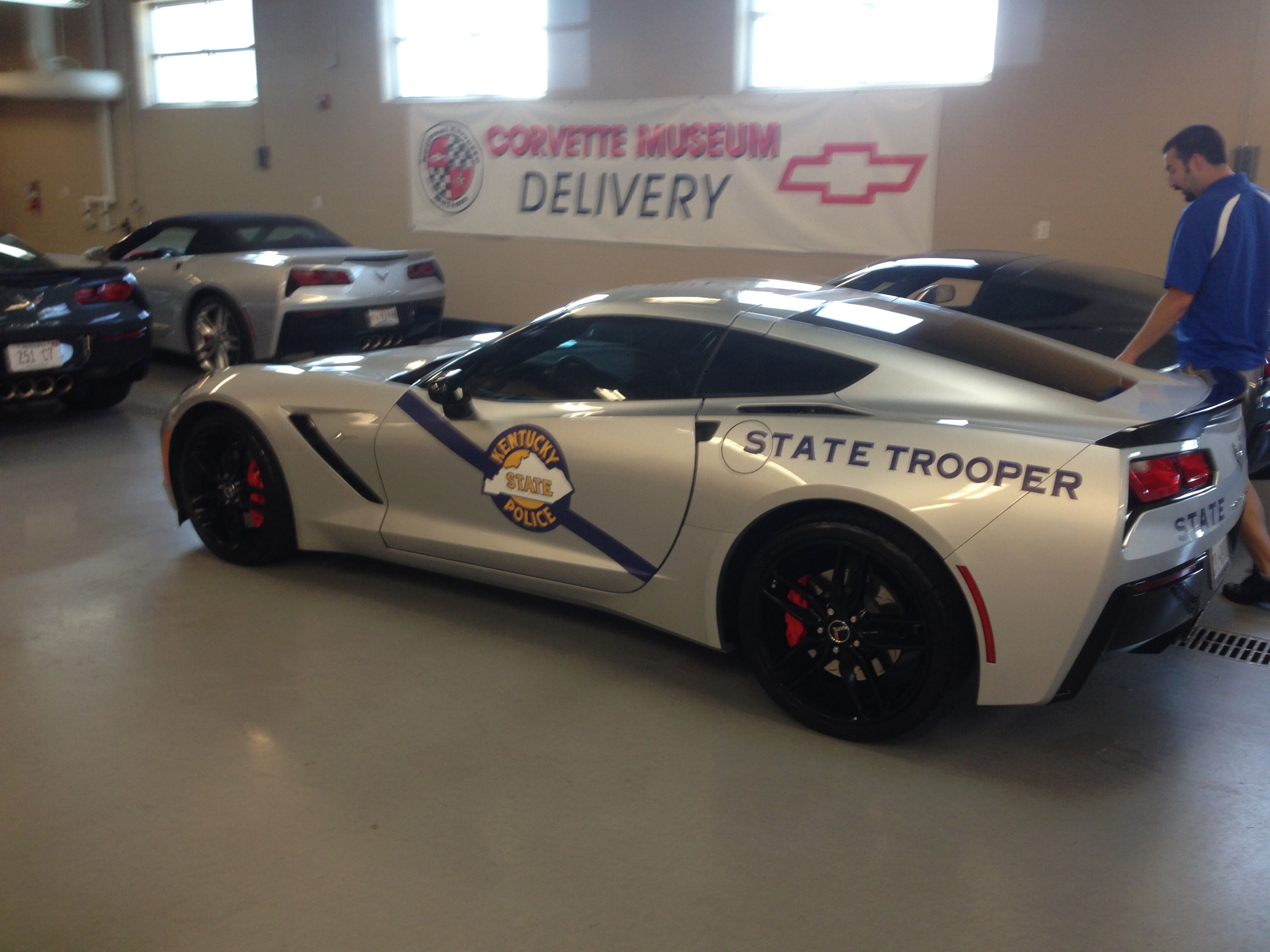 Ordinaire Kentucky State Police 2014 Corvette Stingray Corvette Homecoming August 2014  Corvette Rally National Corvette Museum